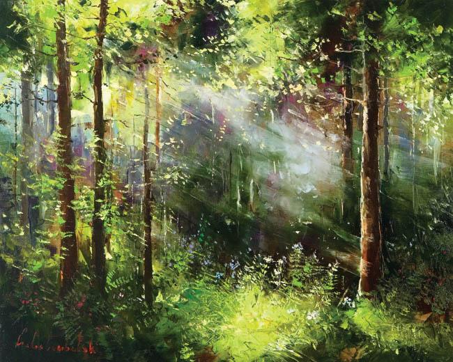 Graham Fine Art   London Fine Art GalleryFamous Forest Paintings