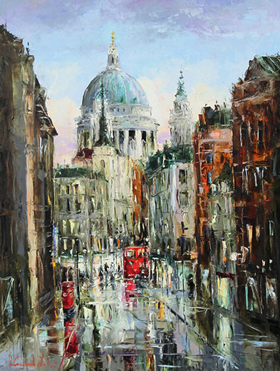 St Paul's by Gleb Goloubetski