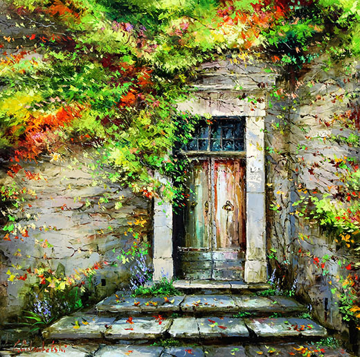 Summer Vines by Gleb Goloubetski