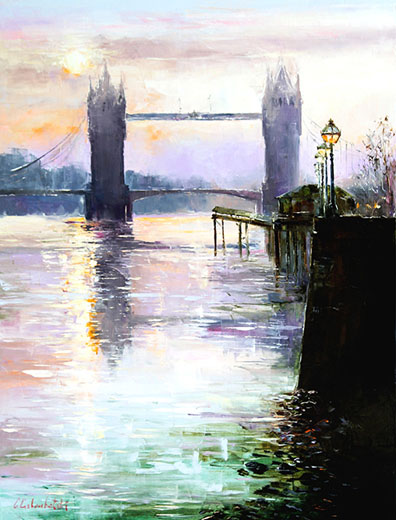 Tower Bridge by Gleb Goloubetski