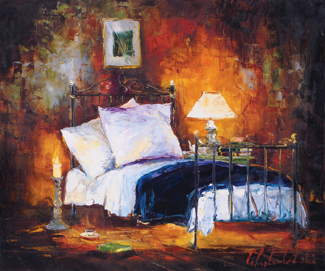 And So to Bed by Gleb Goloubetski