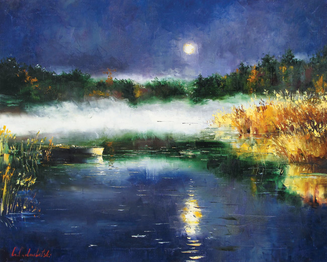 Evening Mist by Gleb Goloubetski