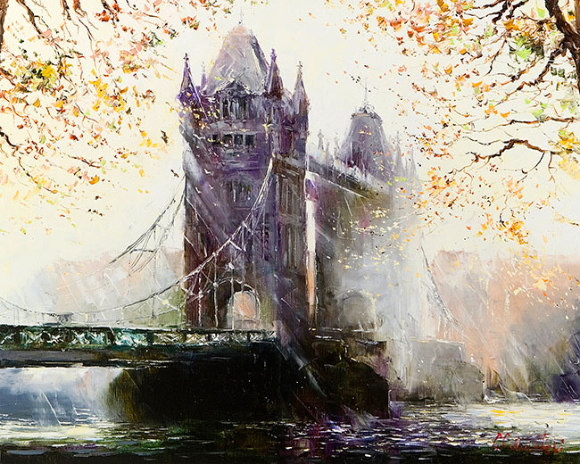 Tower Bridge - London by Gleb Goloubetski
