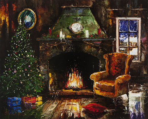 Christmas by Gleb Goloubetski