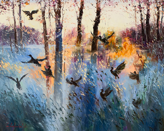 Taking Flight by Gleb Goloubetski