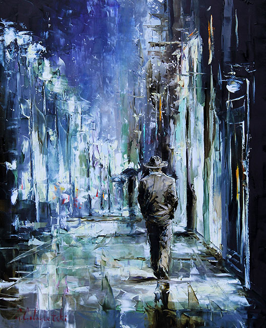 The Artist by Gleb Goloubetski